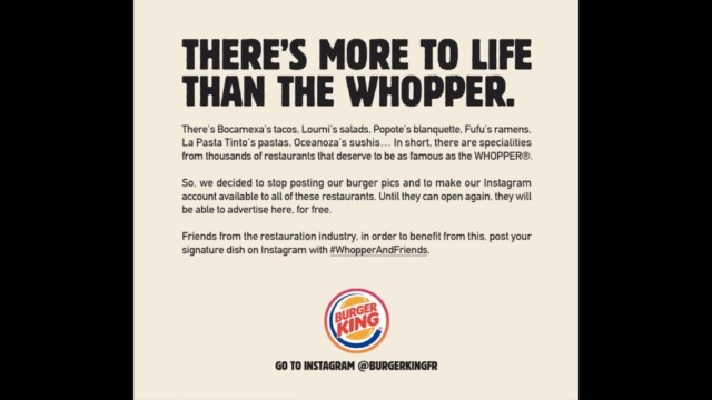 burger-king-france-is-donating-its-instagram-posts-to-independent-restaurants-in-lockdown
