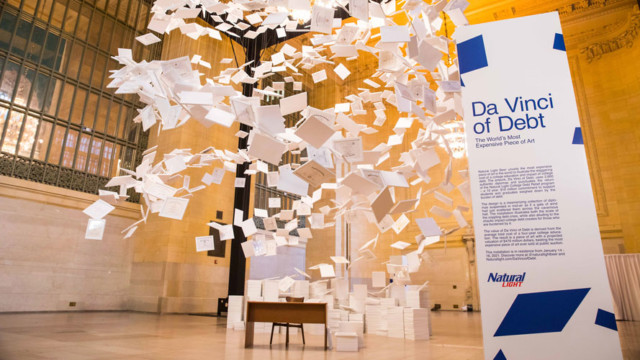 natural-light's-$470-million-art-installation-is-a-commentary-on-the-student-debt-crisis