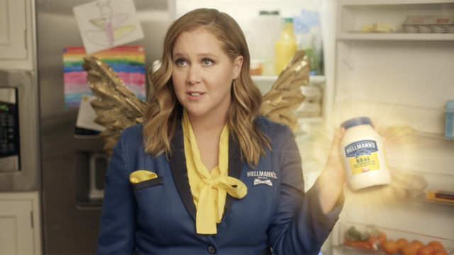 fairy-godmayo-amy-schumer-revives-leftovers-in-hellmann's-super-bowl-ad