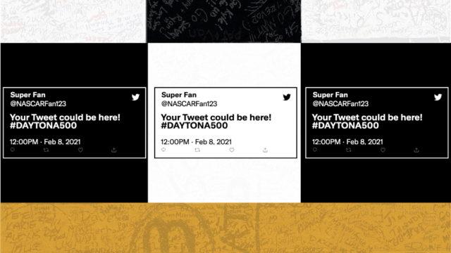 start/finish-line-at-daytona-500-to-feature-fan-tweets