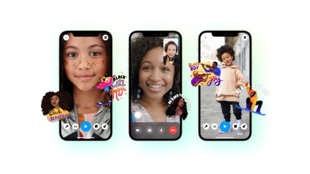 messenger-from-facebook:-how-to-use-black-history-month-stickers-on-photos,-videos