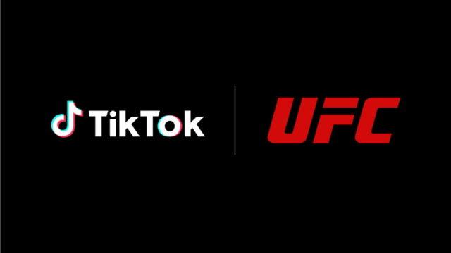 tiktok,-ufc-reach-multiyear-content-partnership
