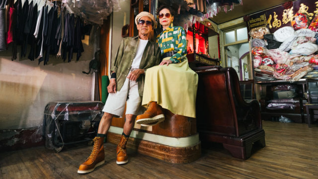 how-fashion's-coolest-octogenarian-influencers-helped-red-wing-kick-things-up-a-notch