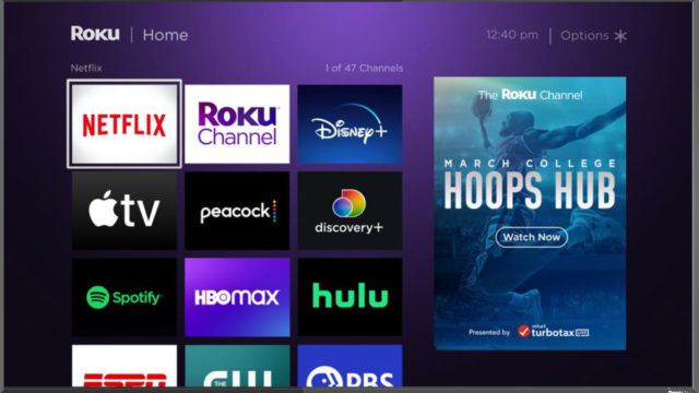 march-madness-fans-can-shoot-virtual-hoops-in-roku,-turbotax-teamup