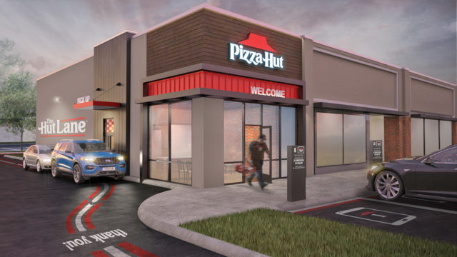 pizza-hut's-new-drive-thru-'hut-lane'-takes-a-digital-first-approach-to-contactless-pickup