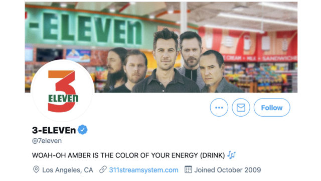 7-eleven-and-311-swapping-social-accounts-is-the-only-april-fools'-stunt-worth-your-time