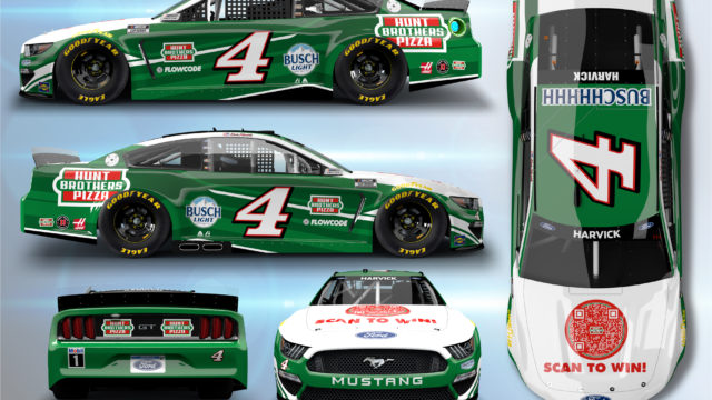 flowcode-teams-up-with-nascar-to-put-a-qr-code-on-the-hood-of-a-race-car