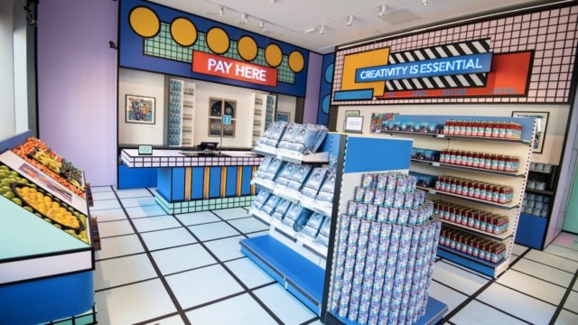 bombay-sapphire-created-a-grocery-store-that's-also-a-vibrant-pop-art-installation