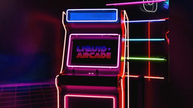 sunday-afternoon-channeled-retro-gaming-for-liquid+arcade's-new-identity