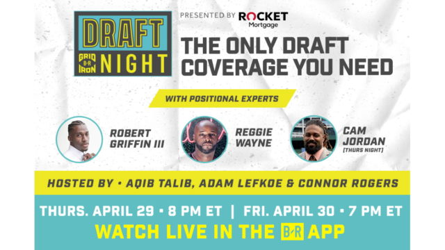 bleacher-report's-b/r-gridiron-sets-2-new-livestreams-for-nfl-draft