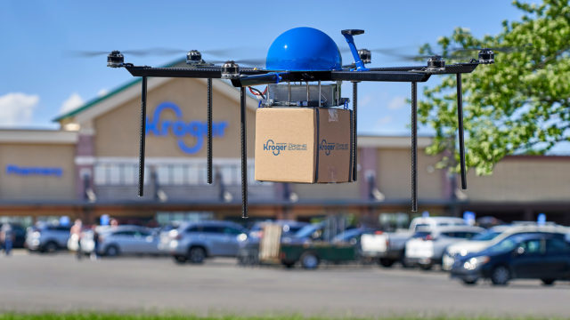 kroger-will-deliver-s'mores-to-your-summer-barbecues-via-drone