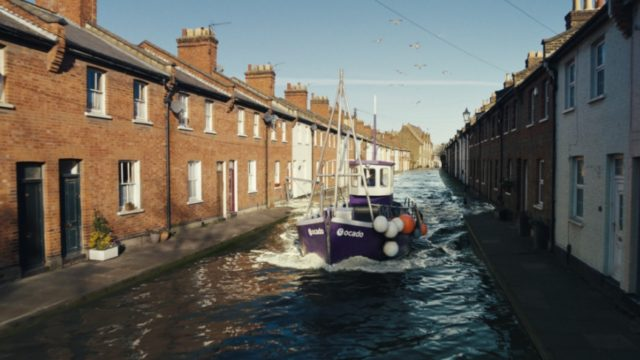 ice-cream-vans-to-boats:-online-grocer-ocado's-rebrand-campaign-showcases-delivery-offer