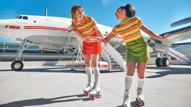 new-york's-twa-hotel-has-a-new-way-of-luring-guests:-roller-skating-at-jfk-airport