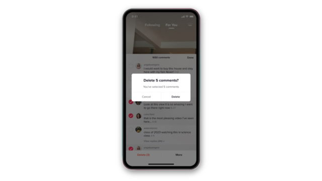 tiktok-adds-way-for-users-to-block,-delete,-report-comments-or-accounts-in-bulk