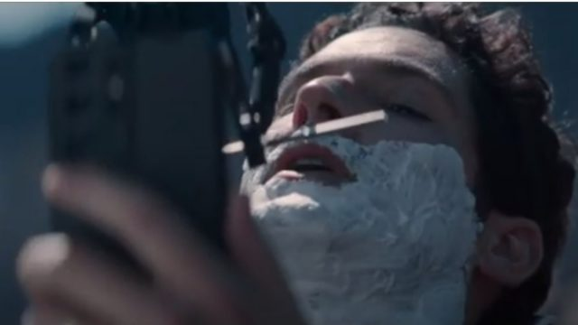 why-ee-took-actor-tom-ellis-up-a-welsh-hill-to-be-shaved-by-a-robot