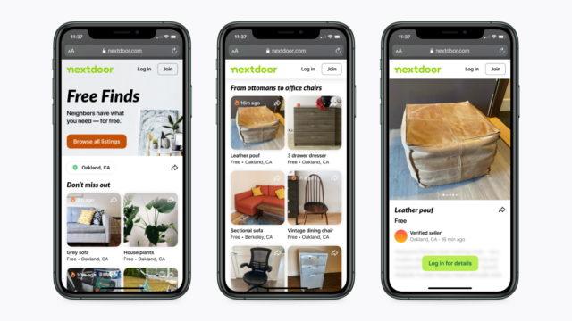 nextdoor-introduces-free-finds-feature