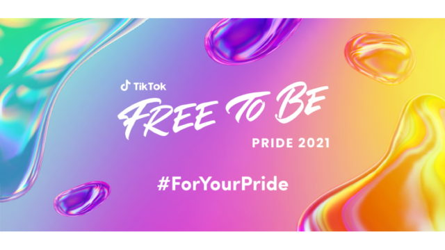 tiktok-shares-'free-to-be-you-#foryourpride'-pride-month-plans