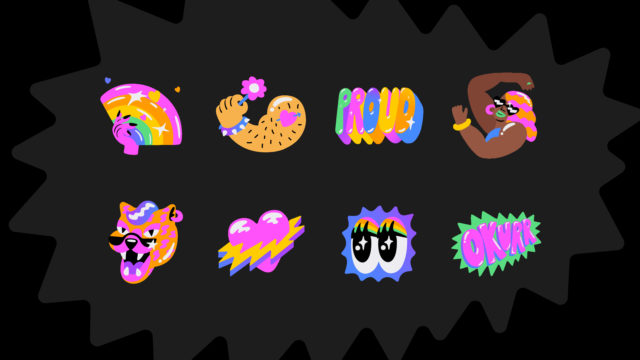 messenger-from-facebook:-how-to-use-the-pride-month-sticker-pack