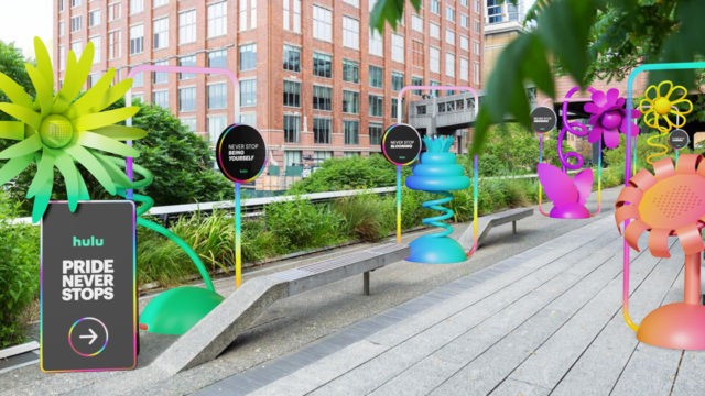 hulu-is-installing-nyc-flower-sculptures-and-donating-to-lgbtq+-groups-for-pride-month