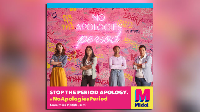 midol-encourages-menstruators-to-stop-apologizing-for-their-periods